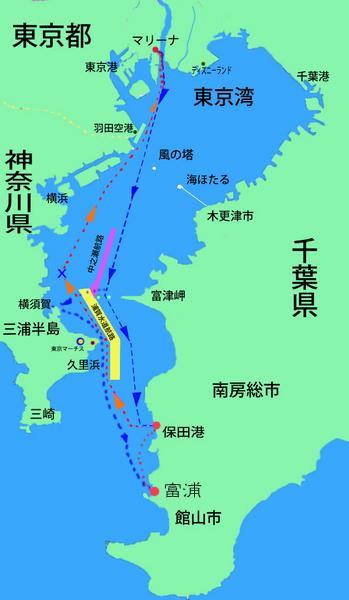東京湾クルーズ 航跡図.jpg